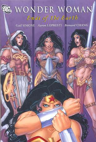 Wonder Woman Ends of the Earth Gail Simone Aaron Lopresti